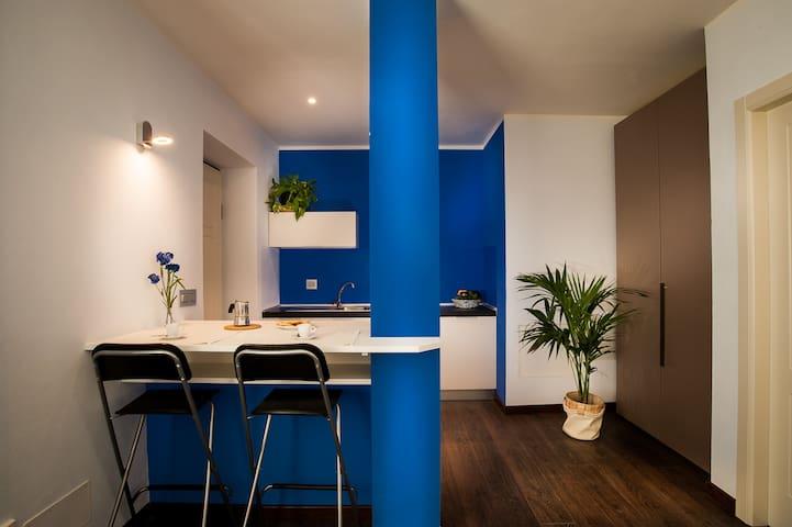 Arc en Ciel Appartamento Blu - Cocconato - Byt