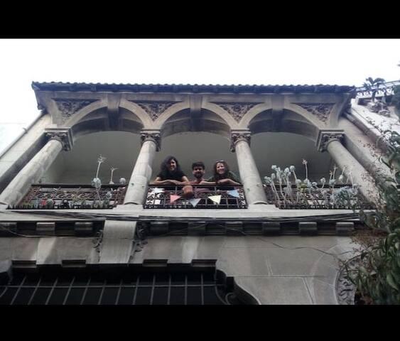 Habitación grande en hermosa casa antigua, Yungay