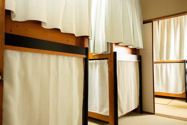 【ゲストハウスはじまり】男女混合ドミトリールーム