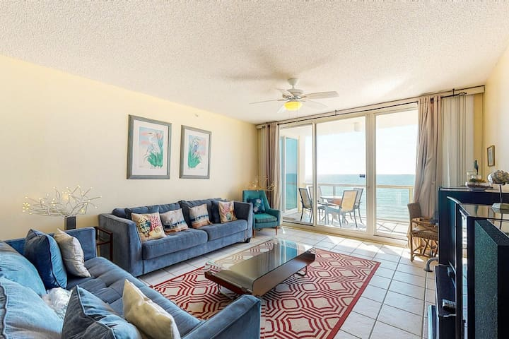 Incredible Gulf Front Condo! Great Amenities & Private Beach Access!