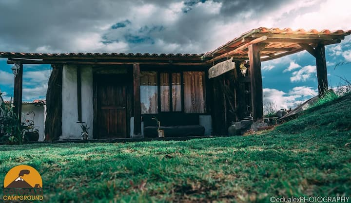 Cabañas rusticas y tradicionales Ecuatorianas
