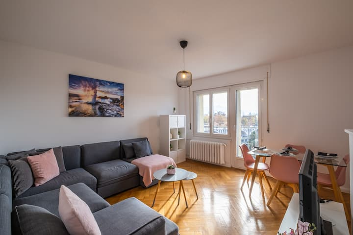 Wonderful apartment in the center of Lausanne