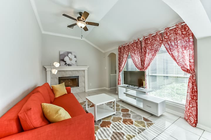 Spacious, beautiful, newly furnished retreat - Katy - House