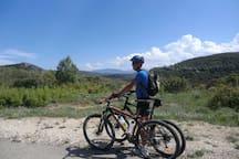 Mountain Biking in the hills