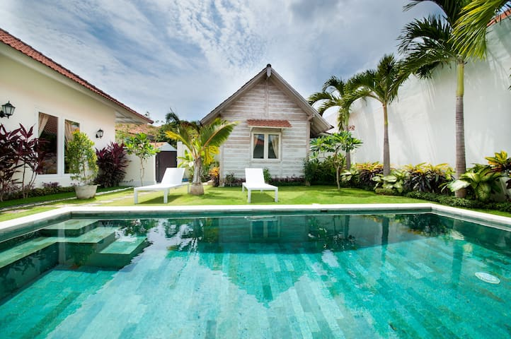 75% OFF Green Garden 3BR Villa 3min walk to beach