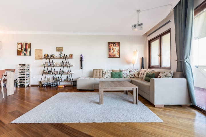 Luxurious Loft With Home Theater in Bilkent 3!