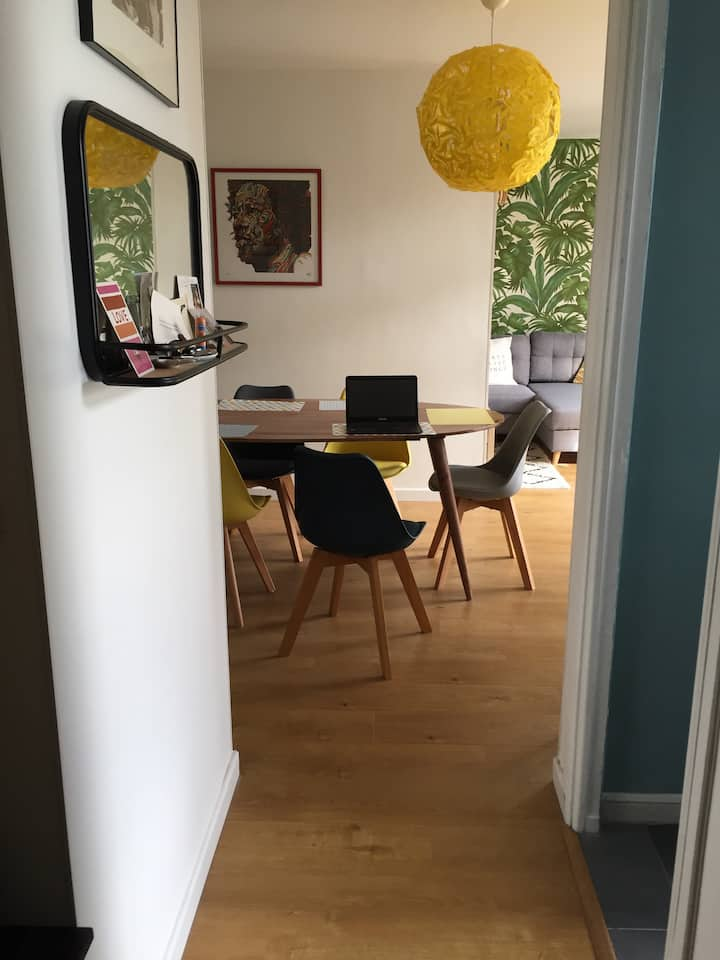 Appartement de charme à Tassin