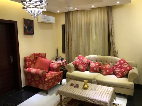 Beautifully furnished apartment made for you.