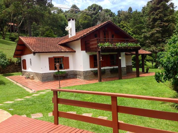 Chalé 5 Quartos no Spa da Alma - Monte Verde