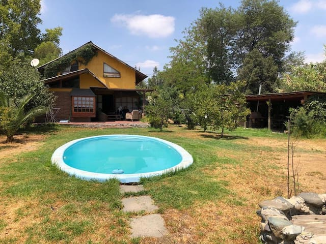 Casa ubicada en la capital folklórica de Chile