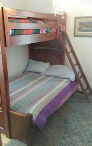 Bunk-bed Room 10 min O'Hare Airport - Des Plaines