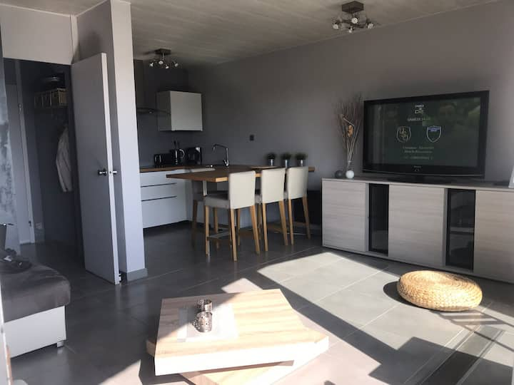 Cosy appartement à Vosseslag, Park Atlantis
