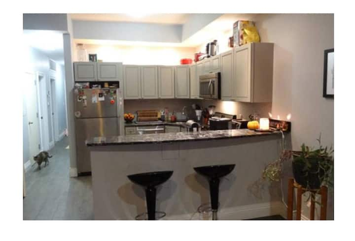 Great 1 bedroom 10 min walk from M and A/C train