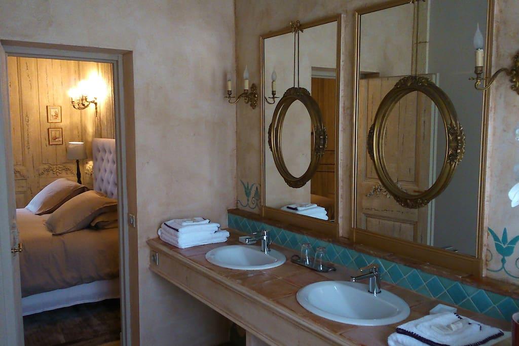 Chambre Aria : Salle d'eau