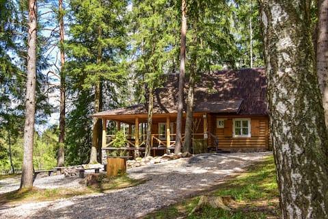 Vidūnų Homestead | Lake, Sauna, Campfire