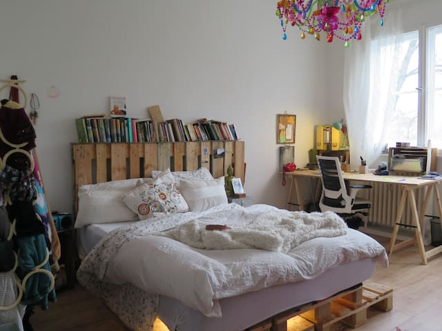 Beautiful homely room facing the river - Berlin - Lakás