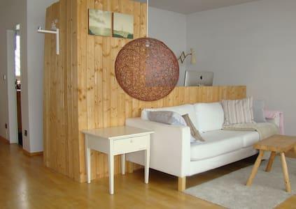 Superhelle Wohnung mit Dachterrasse - Munich