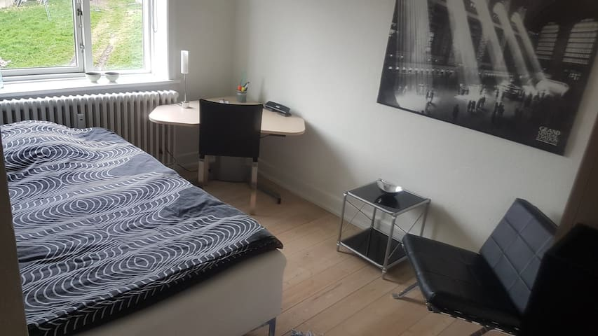 Cozy room in the heart of Aarhus close to it all.