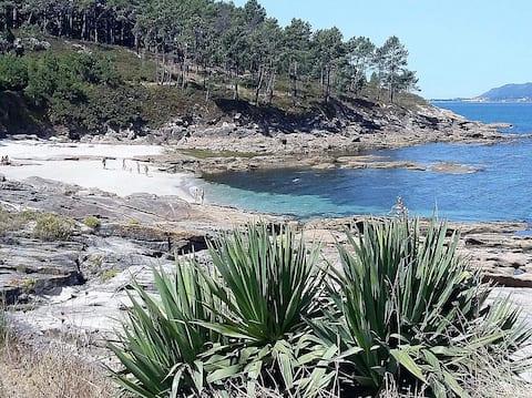 Chalet a pie de playa de Aguieira-Porto do Son