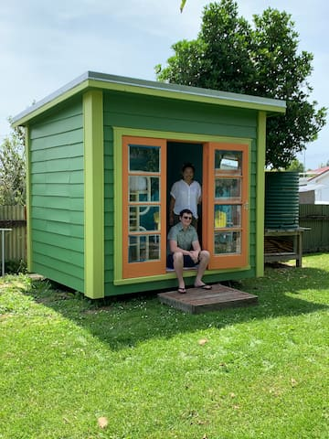 Green Shed - Shed Stay, Inner Gisborne