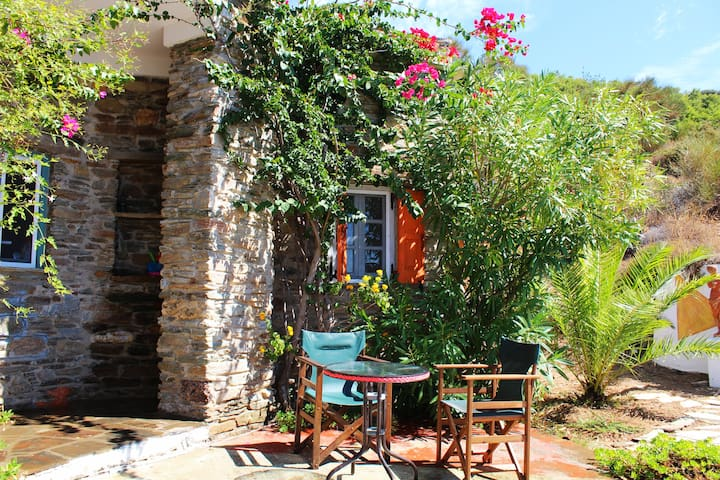 Andros, cyclade, smart holidayhouse - Ydrousa - Dom