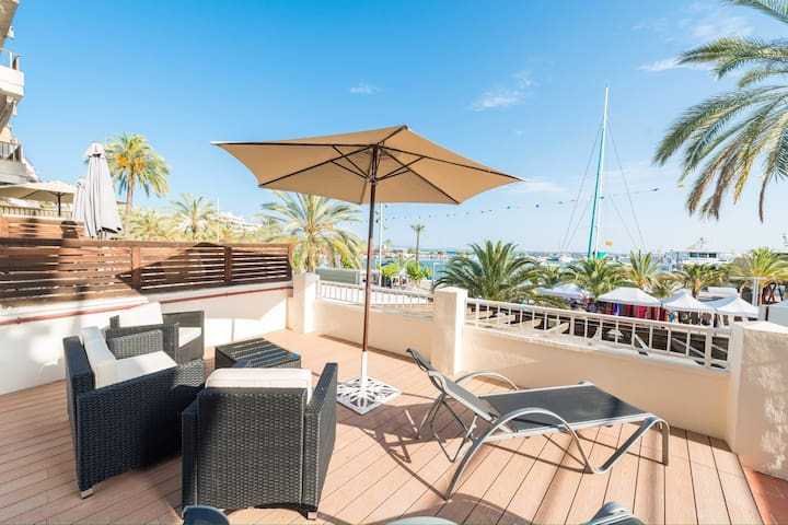 Stunning sea view apartment - Puerto de Alcudia  - Apartament