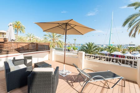Stunning sea view apartment - Puerto de Alcudia