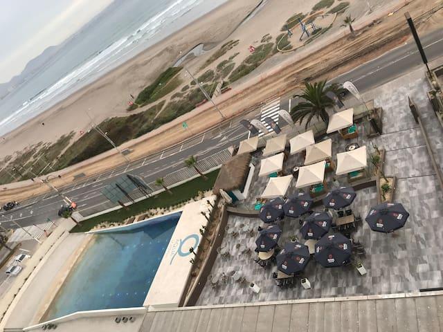 Edificio Aqua La Serena- vista despejada piso 10