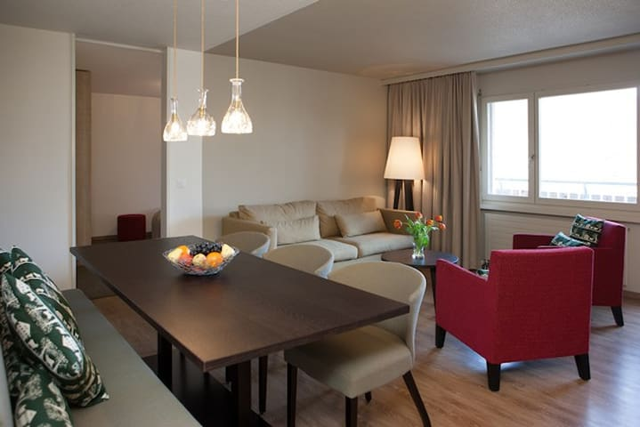 3 Zimmer Ferienwohnung 'il suegl' - Disentis/Mustér - Apto. en complejo residencial