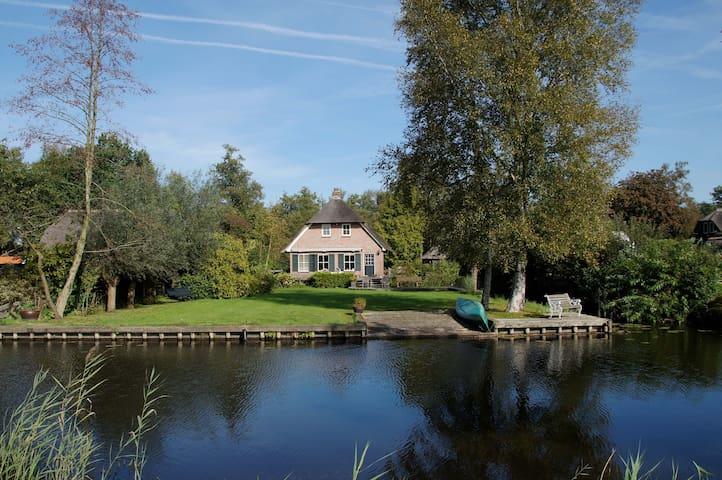 Vrijstaande vakantievilla - Giethoorn - Hus