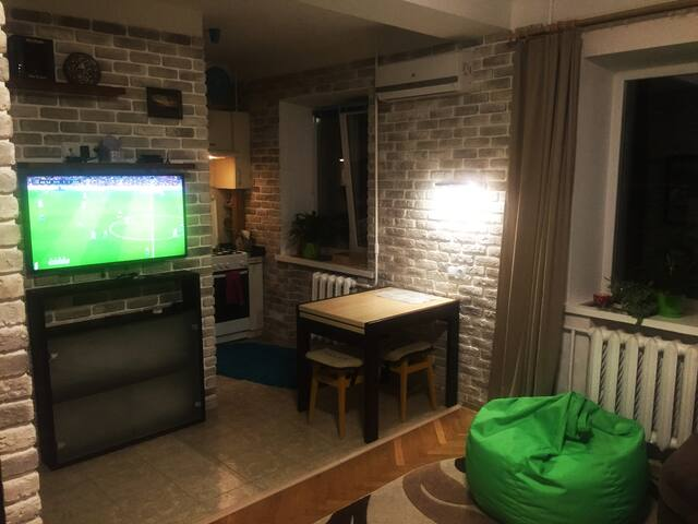 Apartments,15 minutes to Olimpiyskyi stadium