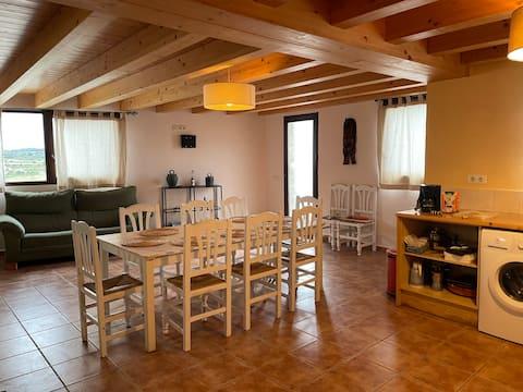 El Refugi de Rubinat.  La Segarra (Lleida)