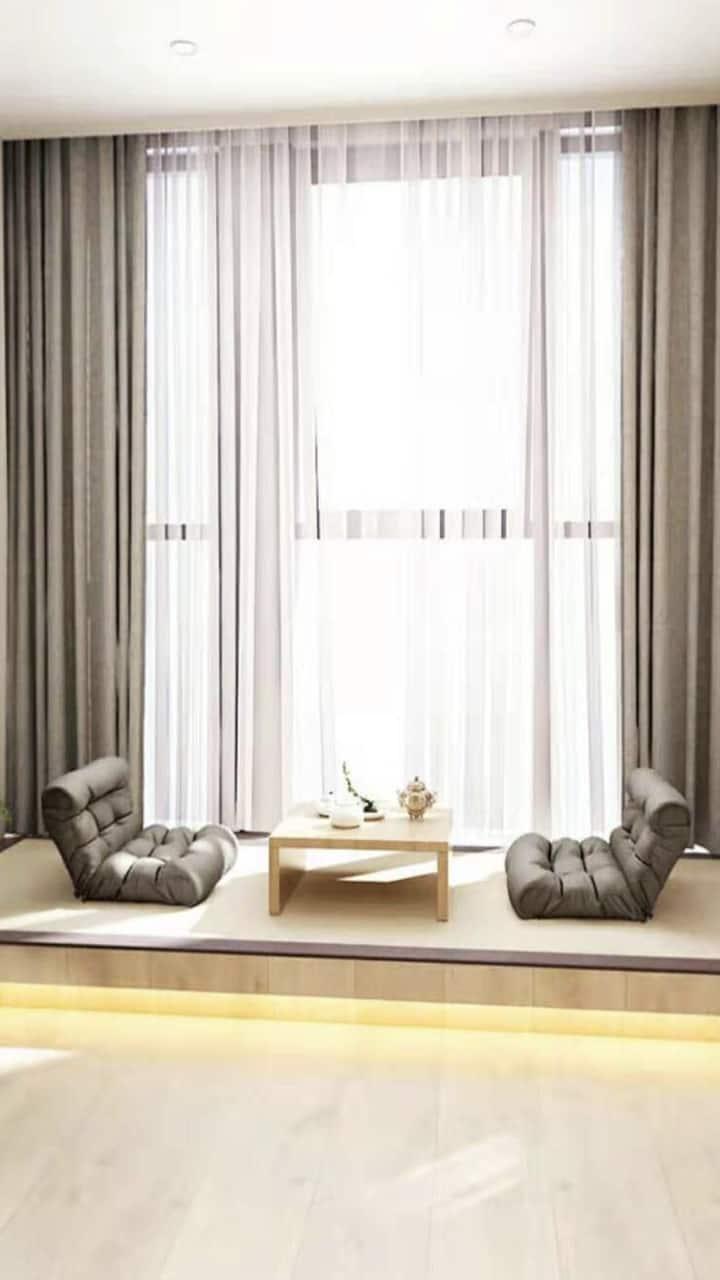 黑金城市民宿(快乐城店)1311日系套房和风小浪漫大床房
