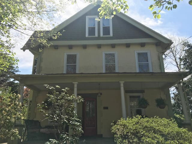 Charming artist's home on the Main Line