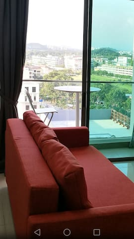 Smart Flexible 2R Studio Great View - Cyberjaya - Wohnung