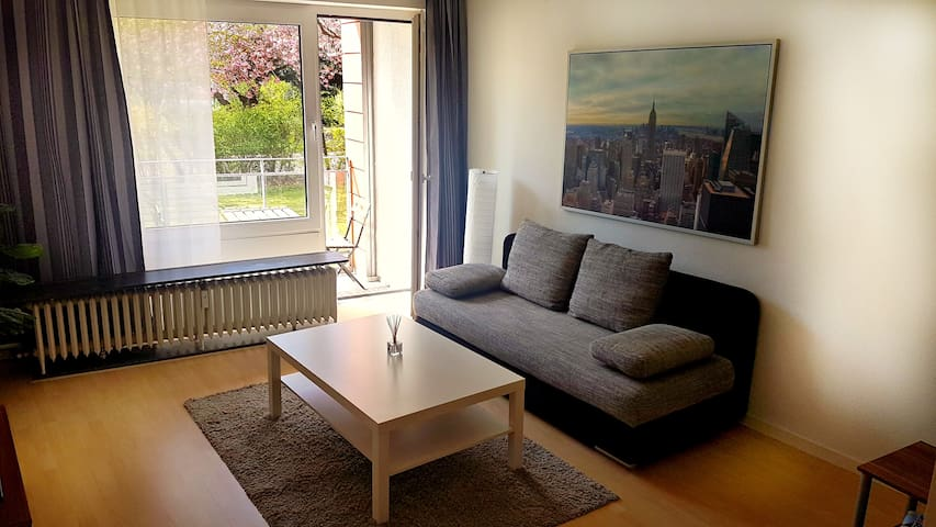 Sunny and central apartment - Hamburg - Apartemen