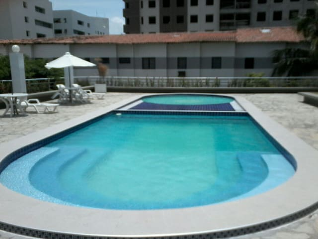 Excelente apartamento a beira mar. - Cabedelo - Flat