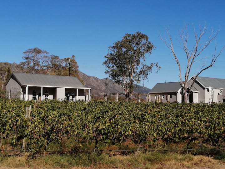 Authentically restored farmworkers cottages