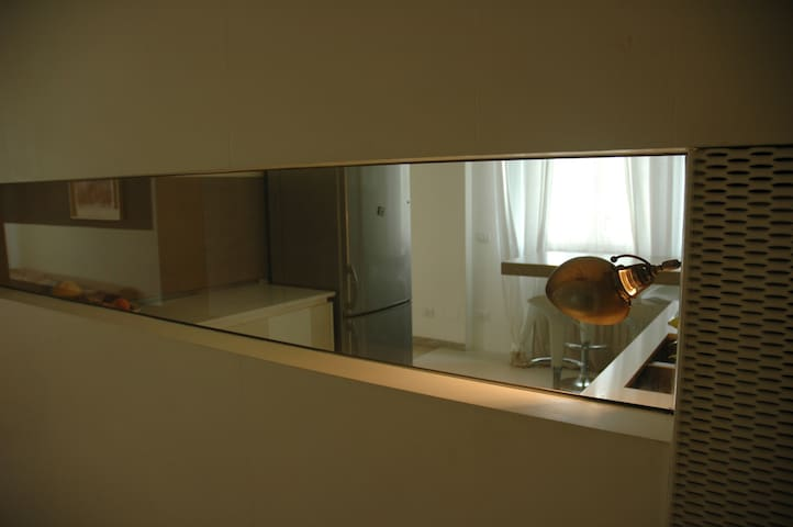design apartment in the green - Parma