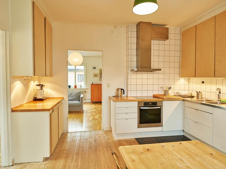 Large 2 bedroom apartment in central Kiruna