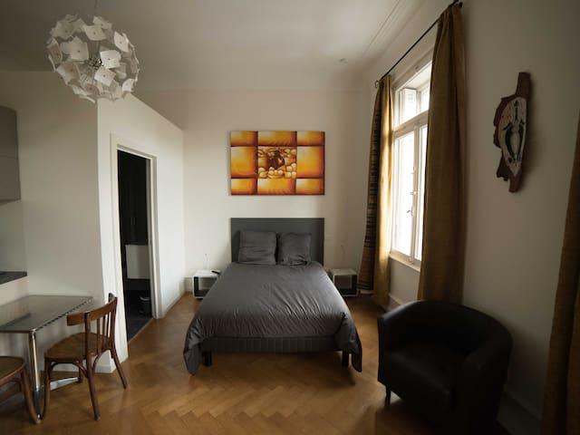 Studio-Apartment-Ensuite with Bath-City View-Studio N°3