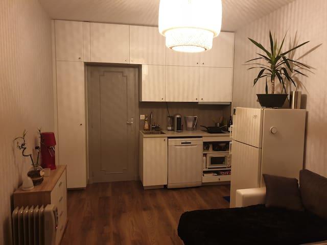 Appartement calme dans une résidence verdoyante