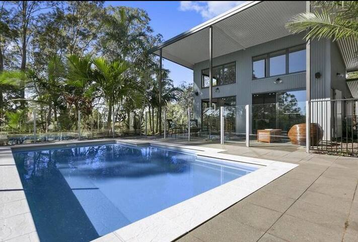 Kin Kin Queensland . Peaceful 30 acres with pool