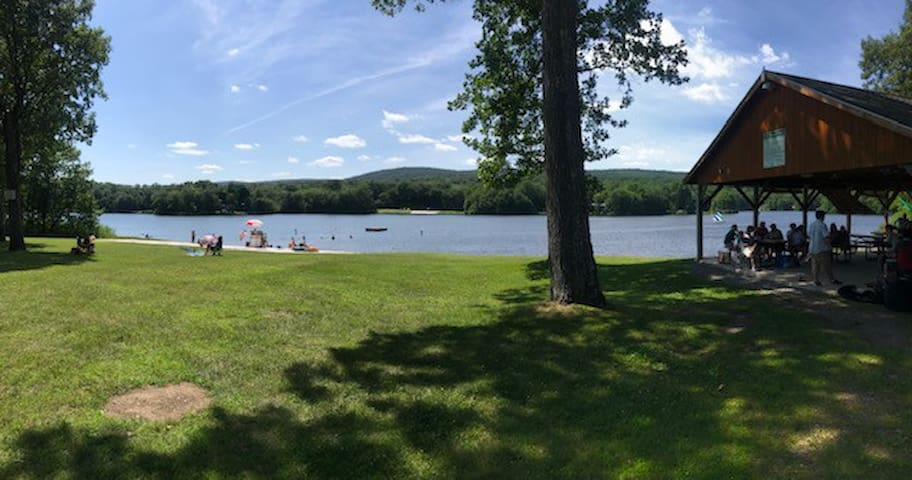 Perfect recreation areas for picnics, swimming, sports and more.