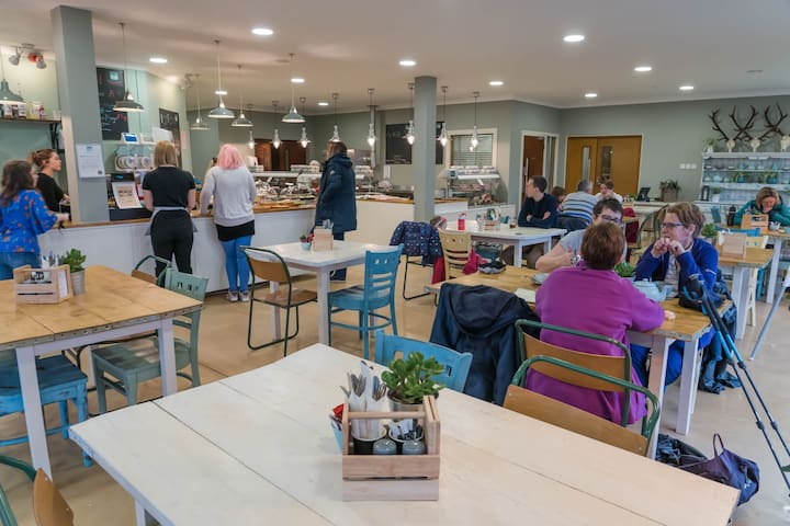 Our fabulous Edenmill Cafe