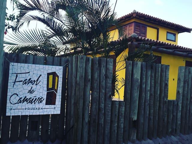 Suíte - Pousada Farol de Caraíva - Caraíva