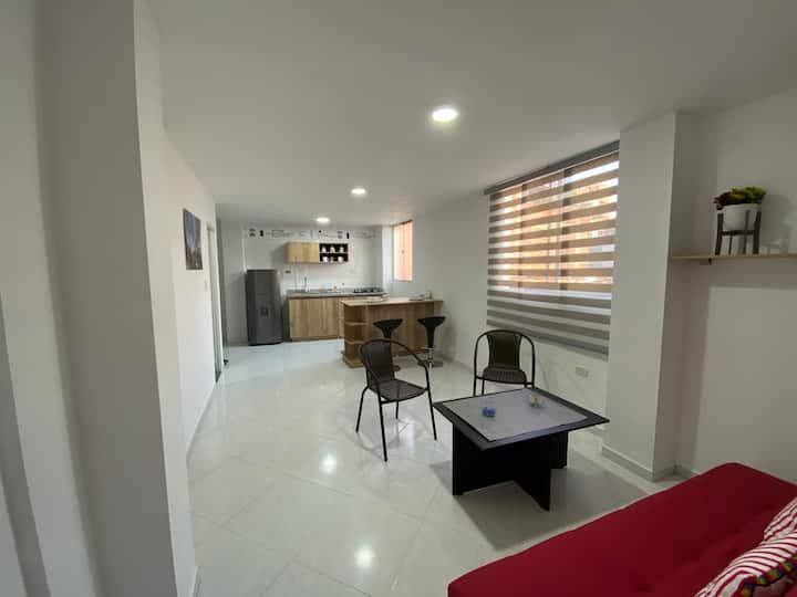 Apartamento Completo en excelente ubicación.