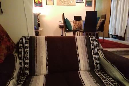 Sofa, justo en el centro de Tlaxcala - Tlaxcala de Xicohténcatl - Лофт
