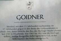Urlaub am Hof - Goidnerhof Marling (Meranblick)