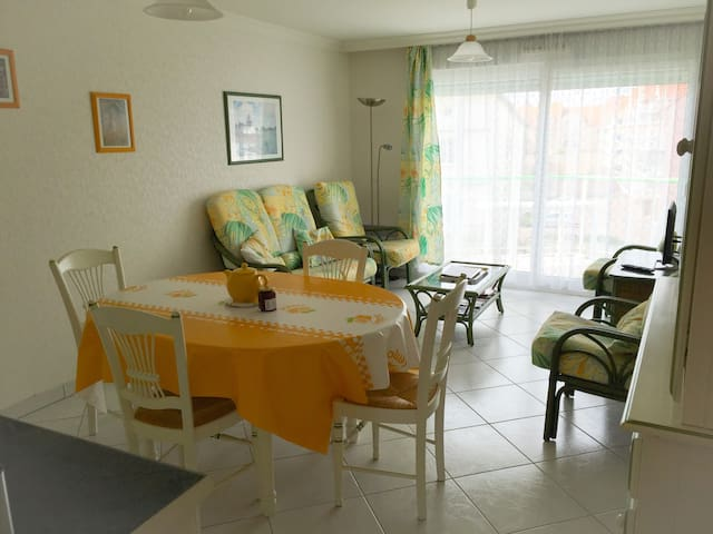 "Appart ""Flora"" wifi+garage-Stella plage/Le Touquet - Cucq - Appartement"